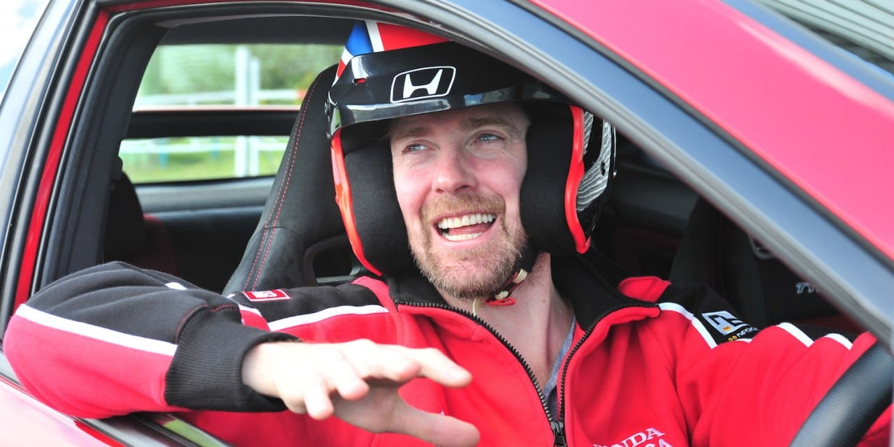 Ricky Wilson Kaiser Chief Test Drives Honda Civic Type R