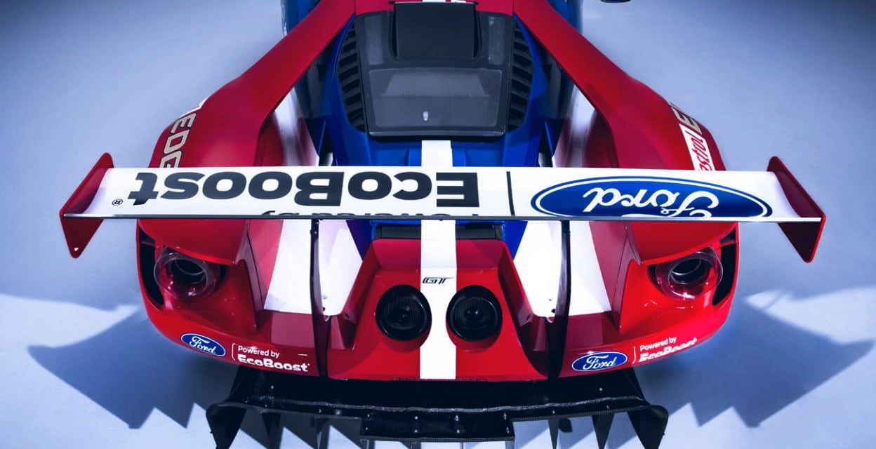 Back to the future – Ford GT