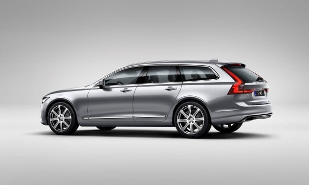 Volvo V90 Great News for Labradors