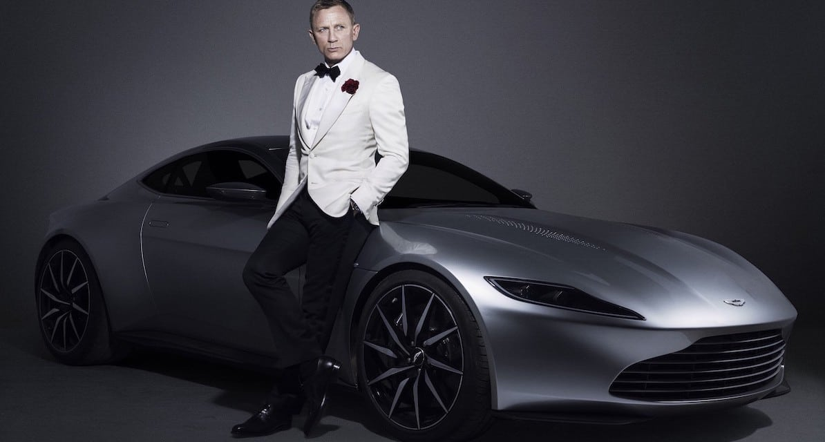 Bond's Aston Martin DB10 Sells for £2.4m