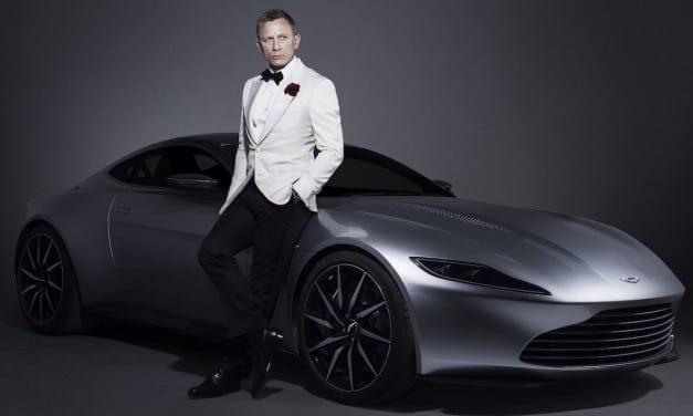 Bond's Aston Martin DB10 Sells for £2.4m