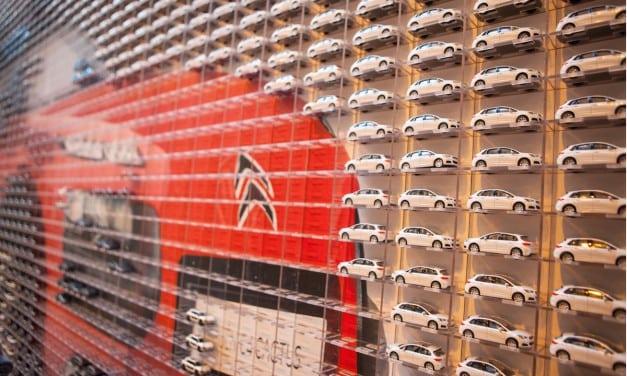 Citroen Park 2677 Cars in the Bullring