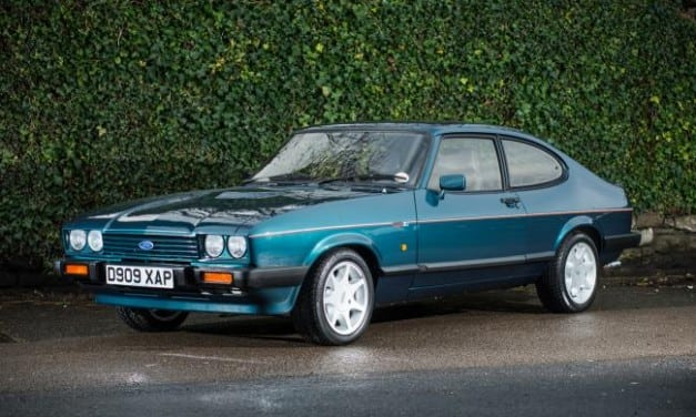 Ford Capri sells for World Record £50K