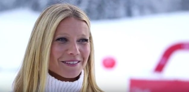 Gwyneth Paltrow at the Audi FIS Ski World Cup