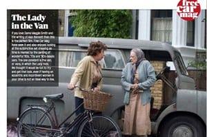 Lady in Van 300x199 - Lady in Van