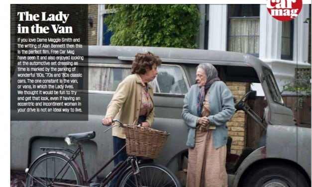 Buy Dame Maggie Smith's Van and Get her Look