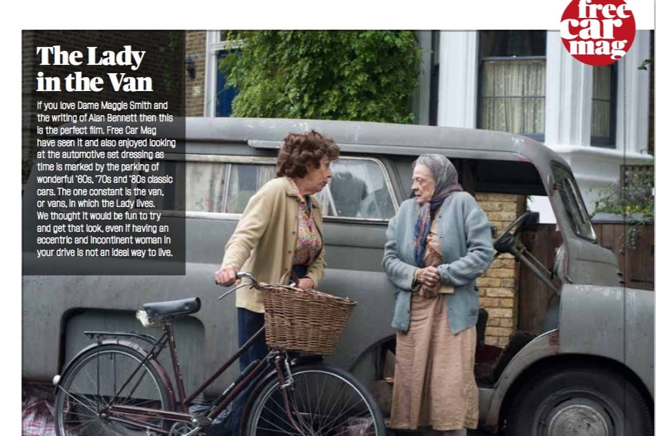 Buy Dame Maggie Smith's Van and Get her Look