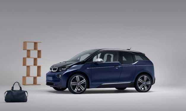 Mr Porter's BMW i3