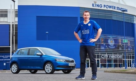 Blue is the Colour says Skoda