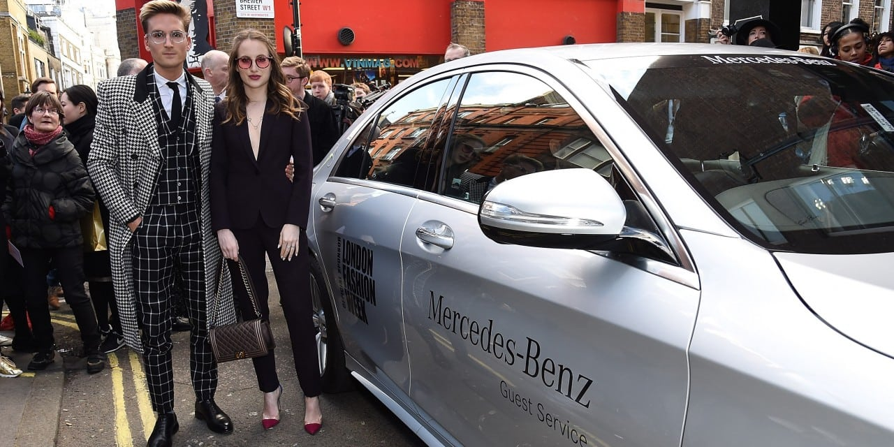 Made in Chelsea at London Fashion Week