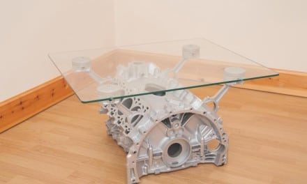 Bored? Build Yourself an Engine Coffee Table