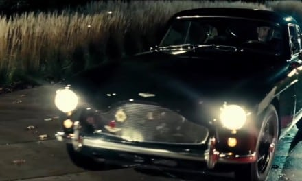 Batman vs Superman Italian Trailer with added Aston DB2