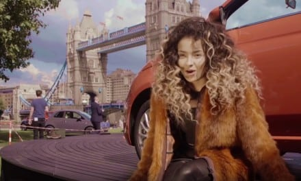 Ella Eyre the Fiat 500 and free Paint