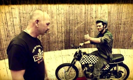 Guy Martin and the Wall of Death