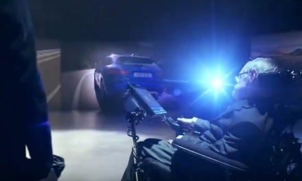 Jaguar Ad featuring 'Villain' Professor Stephen Hawking