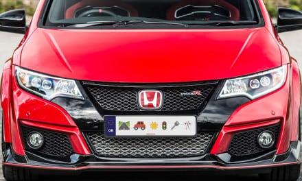 Honda's Emoji Plates