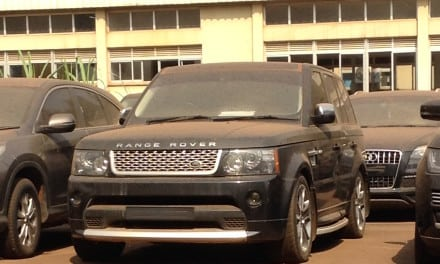 Stolen Recovered 4 x 4s from Uganda