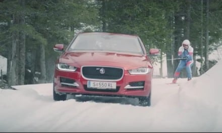 Jaguar aim to Set Ski Record