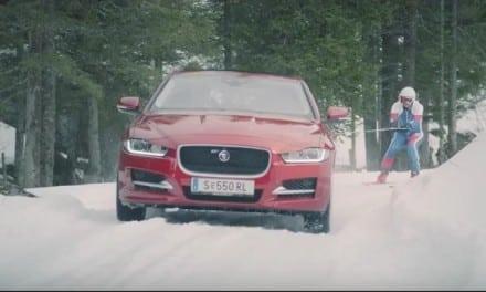 Jaguar aim to Set Ski Record