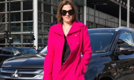 Tracey Emin at London Fashion Week