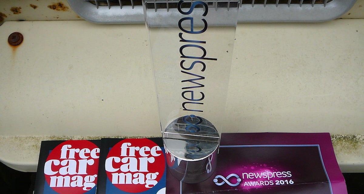 Free Car Mag and Nina Conti at the Newspress Awards