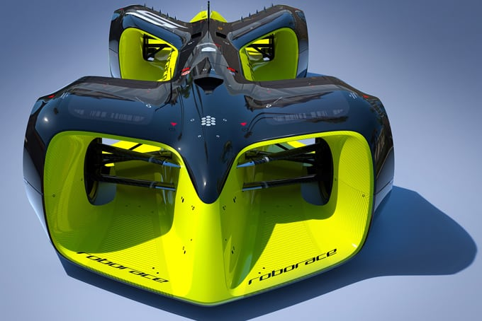 ROBORACE – Scalextric but bigger…