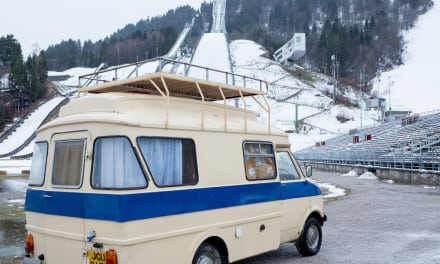 Win Eddie the Eagle's Van