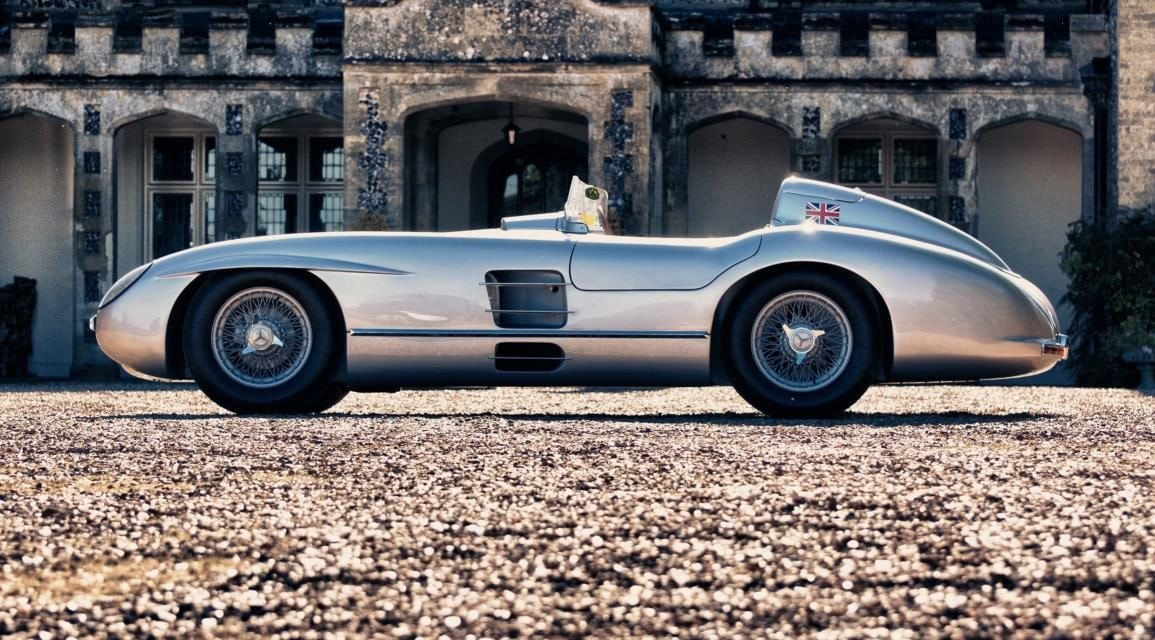 Sir Stirling Moss\'s 300 SLR Mercedes Recreation for sale - Free Car Mag