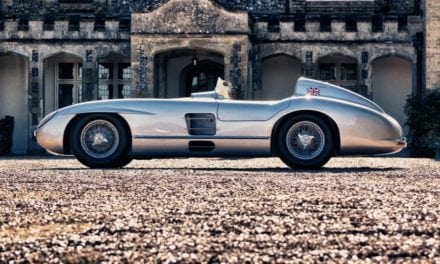 Sir Stirling Moss's 300 SLR Mercedes Recreation for sale