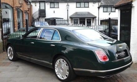 Queen's Bentley up for Grabs