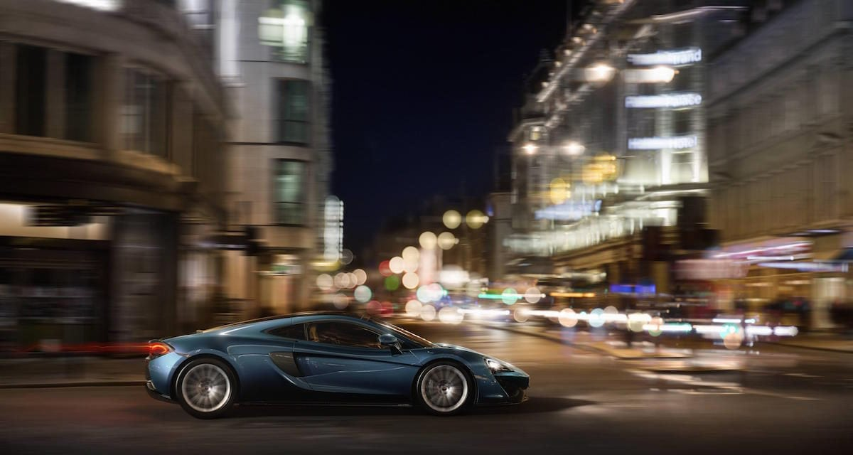 New McLaren 570GT at London Motor Show
