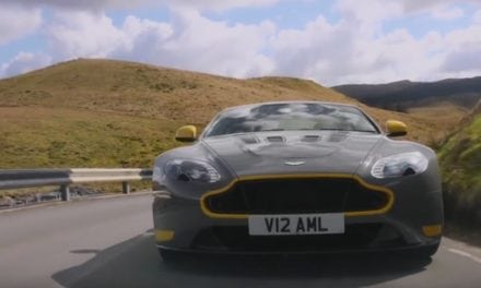 Aston Martin's V12 Vantage S Sounds Awesome