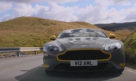 Aston Martin's V12 Vantage S Sounds Awesome