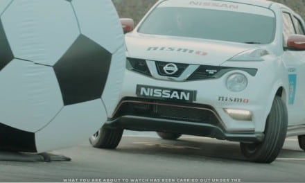 Manchester City play football with Nissans