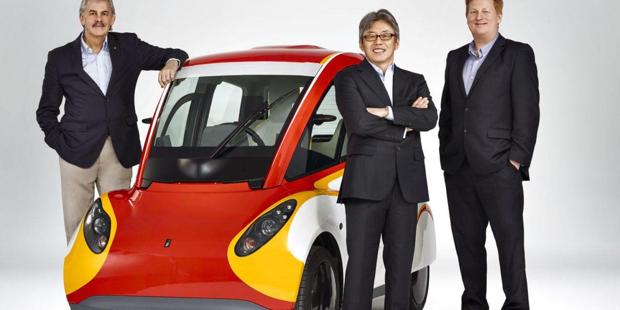 Shell & Gordon Murray design the future