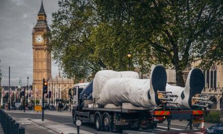 Giant Stig Invades London