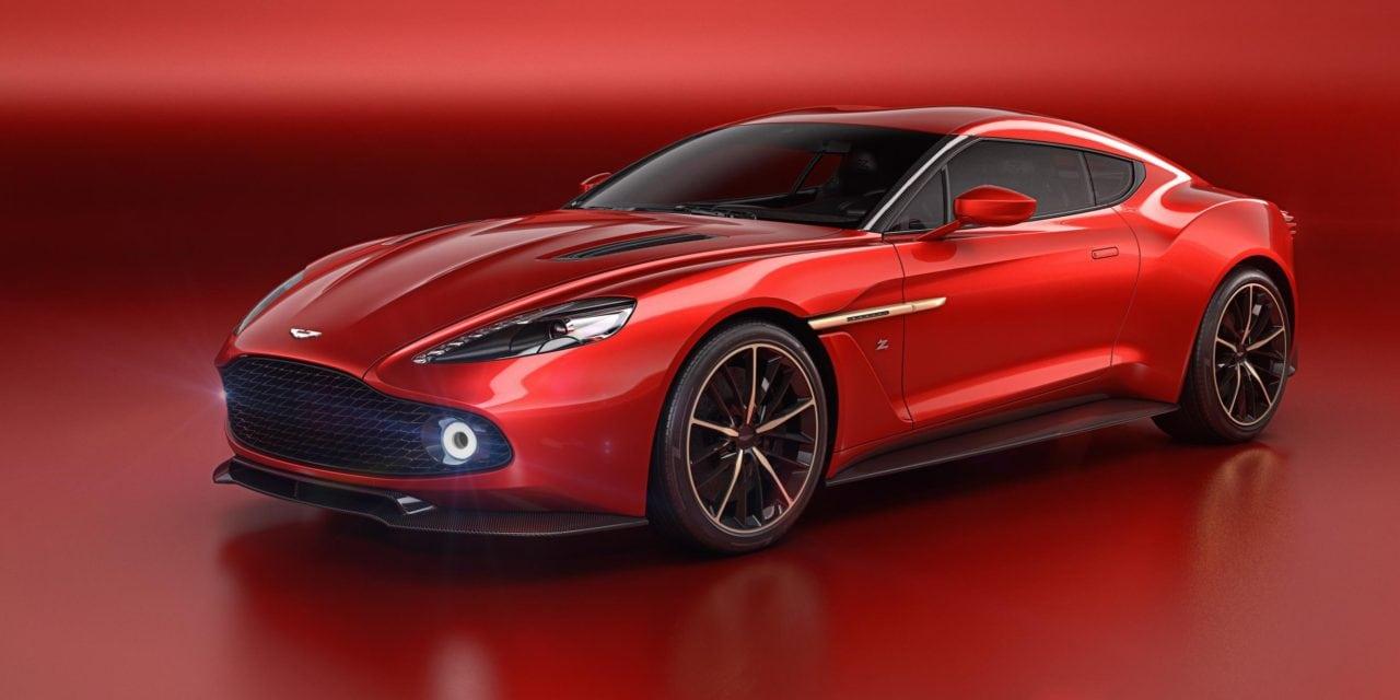 Aston Martin's Insanely Pretty Zagato Concept