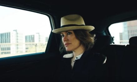 Cerys Matthews Records a Music Video inside an Electric Car