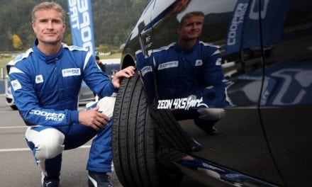 David Coulthard the face of Cooper Tyres