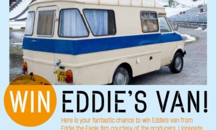 Eddies the Eagle's Van – We have a Winner