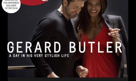 Gerard Butler is our New Cover Star