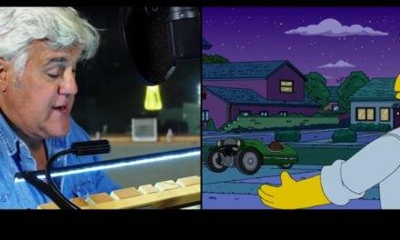 Jay Leno & Morgan & Homer