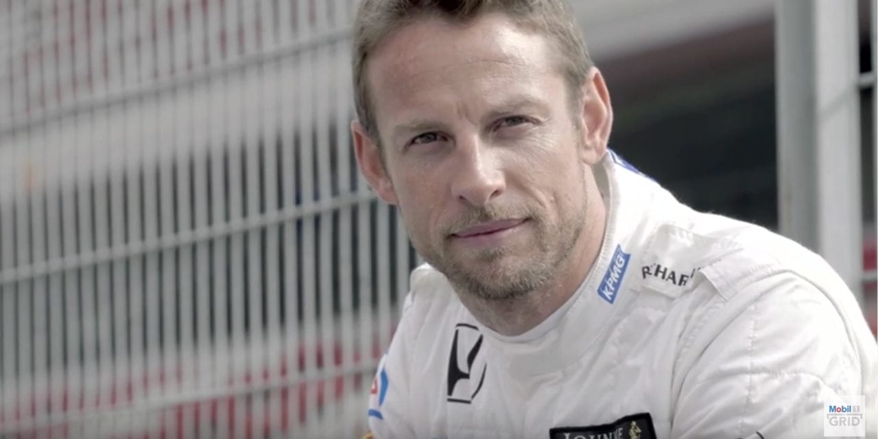 Jenson Button on the Monaco Grand Prix