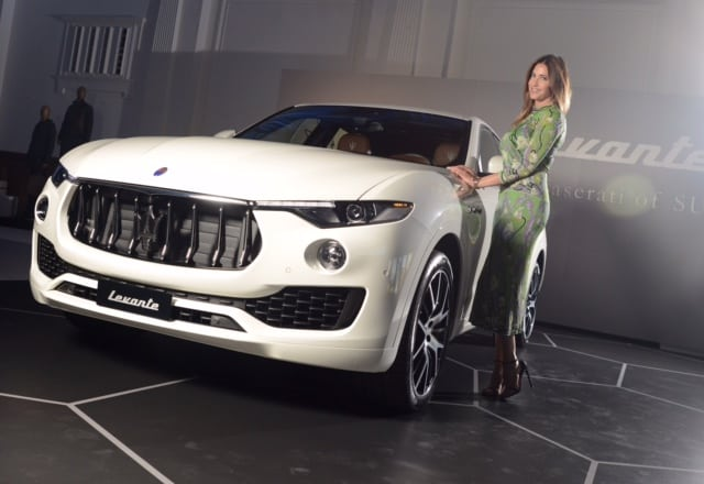Maserati Levante – Glamorous London Launch