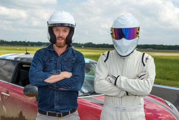 Damian Lewis on Top Gear