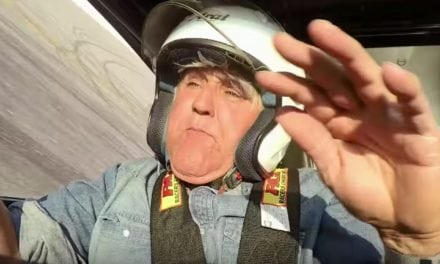 Jay Leno in dramatic drag car crash