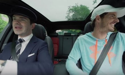 Jimmy Carr is Andy Murray's Secret Chauffeur in a Jaguar F-Pace