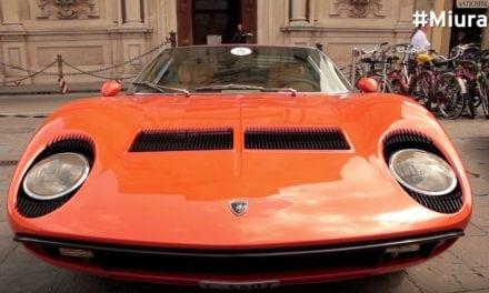 Lamborghini Miura 50th Birthday Celebration