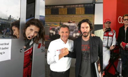 Le Mans Audi Celeb Watch