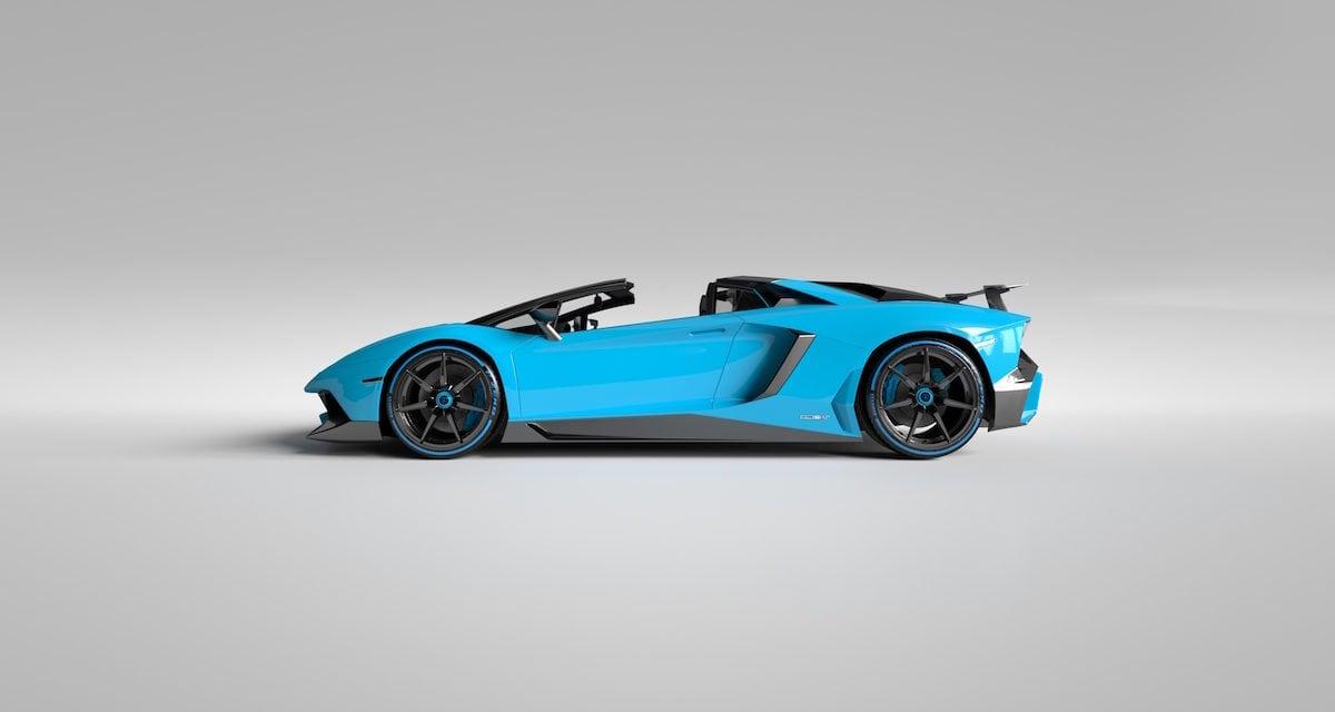 Vitesse AuDessus transforms the Lamborghini Aventador LP750-4 Superveloce